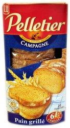 Biscottes pelletier campagne (6 céréales) Pelletier (une ...