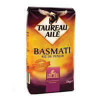 riz basmati taureau ail 100g calories 347 kcal protides 7 5 g lipides 0 6 g. Black Bedroom Furniture Sets. Home Design Ideas
