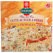 pizza 4 fromages volpone leclerc marque rep re 100g calories 235 kcal protides 13 g. Black Bedroom Furniture Sets. Home Design Ideas