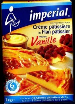 Flan vanille en poudre non sucré impérial