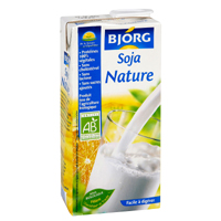 lait de soja nature bjorg 100g calories 37 kcal protides 3 7 g lipides 2 1 g. Black Bedroom Furniture Sets. Home Design Ideas