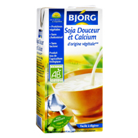 lait de soja douceur et calcium bjorg 100g calories 59 kcal protides 3 8 g lipides 2. Black Bedroom Furniture Sets. Home Design Ideas