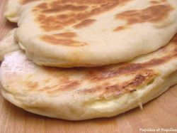 Naans (galettes indiennes)