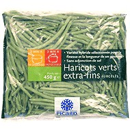 haricots verts extra fins surgel s picard 100g calories 26 kcal protides 1 7 g lipides. Black Bedroom Furniture Sets. Home Design Ideas