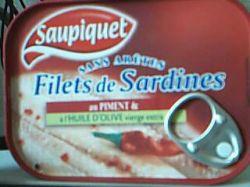 filets de sardine au piment saupiquet. Black Bedroom Furniture Sets. Home Design Ideas