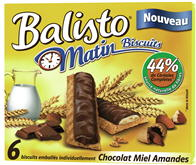 Balisto matin biscuits (1 barre = 21.7g)