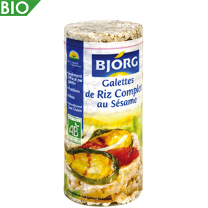 galettes de riz complet bjorg 100g calories 372 kcal protides 8 g lipides 2 8 g. Black Bedroom Furniture Sets. Home Design Ideas