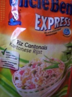 Uncle ben's express riz cantonais