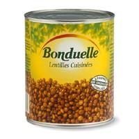 lentilles cuisin es bonduelle 100g calories 105 kcal protides 6 7 g lipides 1 3 g. Black Bedroom Furniture Sets. Home Design Ideas