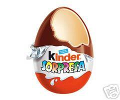 Oeuf Kinder Surprise Kinder Une Unit 233 Gt Calories 112 Kcal Protides 1 9 G Lipides 7 G