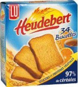 biscotte heudebert lu 100g calories 390 kcal protides 10 g lipides 6 g glucides. Black Bedroom Furniture Sets. Home Design Ideas