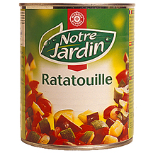 Ratatouille notre jardin leclerc marque rep re 100g - Acide citrique leclerc ...
