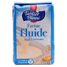 Farine fluide sans grumeaux tablier blanc leclerc marque rep re 100g calories 355 kcal - Acide citrique leclerc ...