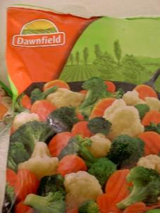 melange de legumes surgelés(brocolis/carottes/chx f.