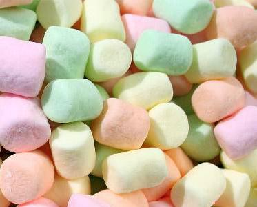 Chamallows (100g) > Calories : 320 kCal, Protides : 2 g, Lipides : 0 g ...