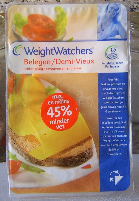 demi vieux weight watchers une tranche calories 68 kcal protides 6 9 g lipides 4 4 g. Black Bedroom Furniture Sets. Home Design Ideas