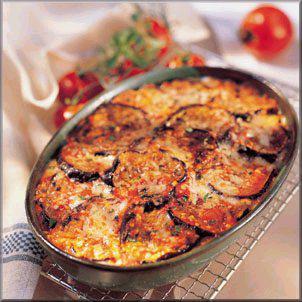 Recette aubergines la parmesane plats principaux - Cuisiner des aubergines au four ...
